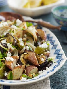 Greek-Style Roasted Vegetables #greek #salad #summer #side