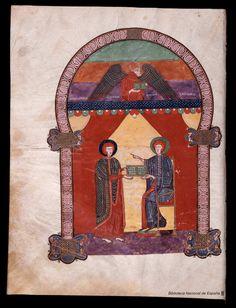 Beato de Liébana. Beato de Liébana , Santo — Manuscrito — 1047 18