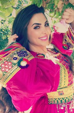Ghazal sadat Afghangirl Afghanclothers ❤