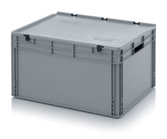 Euro containers with hinge lid ED 86/42