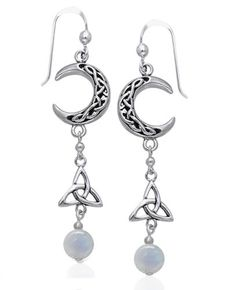 Sterling Silver Celtic Knot Crescent Moon, Trinity Knot, and Rainbow Moonstone Beaded Earrings Silver Insanity,http://www.amazon.com/dp/B000QLWRTK/ref=cm_sw_r_pi_dp_bfYntb1SMPMTA5B3