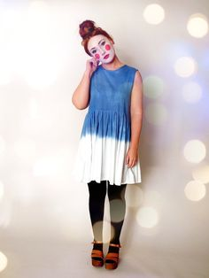 The 'Dimpsy' Organic Cotton Dip Dye Smock Dress by IsabelKnowles, £96.00