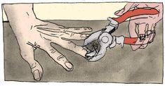 O ilustrador Bruno Maron produziu para a Vice uma série retratando as técnicas de tortura cometida pelos militares e agentes da repressão durante a ditadura militar brasileira.