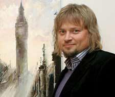 Photo of Artist Gleb Goloubetski