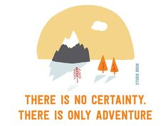 Hello adventurer - Certainty