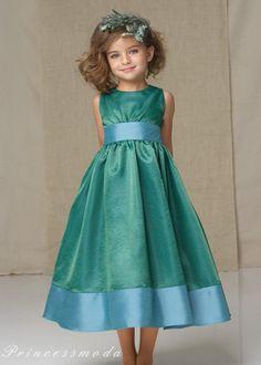 Jasmin - Festkleid - Blumenmädchen! von Princessmoda auf DaWanda.com