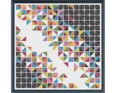 Geometric 14  Deconstructed Triangles  Counted by HornswoggleStore