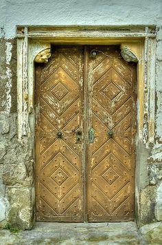 Church door, Slovakia