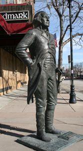 George Washington - First President of the United States (1789-1797) Corner of 6th St. & Saint Joseph St.