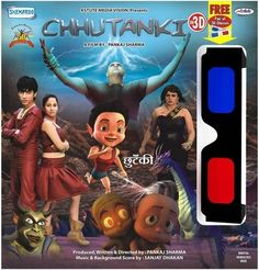 http://www.clickoncart.com/Chhutanki-In-3D-DVD starcast 	: 	Nikita More, Shanoor Sharma, Parminder Ghumman, Puneet Issar, Humeeta Kaur Baggan, Upasna Singh director 	: 	Pankaj Sharma producer 	: 	Pankaj Sharma music_director 	: 	Sanjay Dhakan genre 	: 	Cartoon format 	: 	DVD label 	: 	Shemaroo language 	: 	Hindi year 	: 	2013 Discs 	: 	1 subtitle 	: 	English region 	: 	Region Free