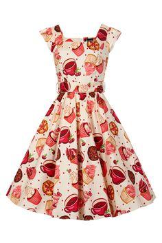 Lady V Cupcake Swing Dress