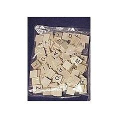 Buy Scrabble Tiles @ Amazon for crafts.