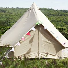 Sandstone Bell Tent   Boutique Camping