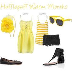 hufflepuff summer fashion