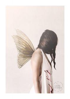 Butterfly Girl Print, Tove Frank FÖRHANDSBOKA