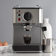 Cuisinart EM-100 Espresso and other coffee brewers.