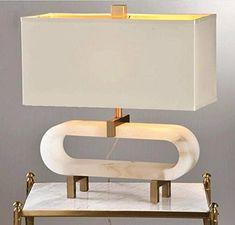 CJSHV Die Amerikanische Moderne Ovale Marmor Lampe,