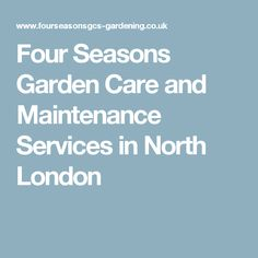 Four Seasons Garden Care and Maintenance Services, Barnet Landscaping Work, Barnet, North London, Garden Care, Illuminati, Four Seasons, Thought Provoking, Presidents, United States