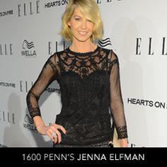 Jenna Elfman Wearing the Convergence Right Hand Ring