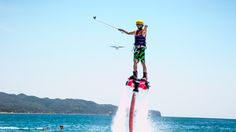Boracay: Fly with Xtreme Fun—Flyboard, Hoverboard, and Flybike