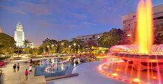 The majestic views of #Grand Park. #lightfunc #lightfuncscapades #exteriorlighting #lighting #lightingdesign #design