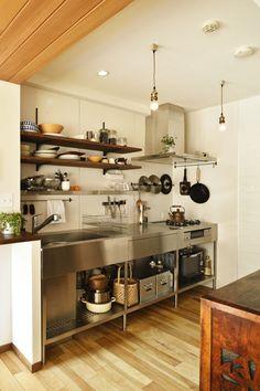 Home diy ikea kitchen cabinets 52 ideas Ikea Kitchen Cabinets, Kitchen Furniture, Kitchen Interior, New Kitchen, Kitchen Dining, Kitchen Decor, Dirty Kitchen Ideas, Dirty Kitchen Design, Cozy Furniture