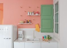 Dit appartement bewijst dat pastelkleuren in het interieur een héél goed idee zijn - Roomed   roomed.nl