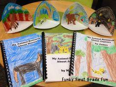 Funky First Grade Fun: animal research