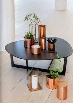 Tendência na decoração - cobre