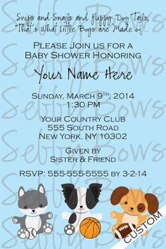 Printable blue puppy shower invitation shower invitations printable blue puppy shower invitation shower invitations invitations and puppys filmwisefo Image collections