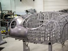 Carolina Coach Crafters is proud to have designed and built the worlds first and only all-steel CnC machined body buck for the Porsche Traditional wooden bucks have larger skeletal. Porsche 356 Speedster, Porsche 550, English Wheel, Sheet Metal Work, Custom Metal Fabrication, Metal Shaping, Coach Builders, Metal Working Tools, Kit Cars