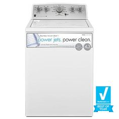 Roper 3.5cu ft HighEfficiency TopLoad Washer (White