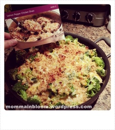 Lemon Pepper Chicken Divan (Pampered Chef) *scroll to the bottom of the post for the recipe*