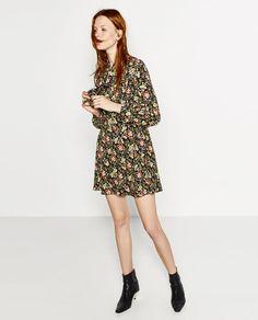 Image 2 of PRINTED MINI DRESS from Zara