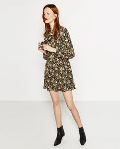 Image 2 of PRINTED MINI DRESS from Zara