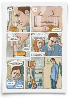 Malarstwo, Ilustracja - Katarzyna Urbaniak: komiks