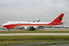 TAAG Angola Airlines U2-TEA B747-200