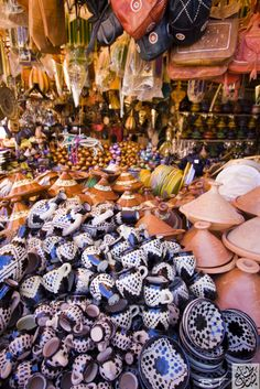 Stroll and shop at a market (Meknes, Morocco)