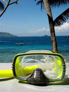 Snorkeling at Blue Lagoon Bali