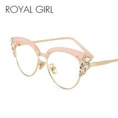 80f98939e25fc Cheap de sol, Buy Quality oculos de sol directly from China brand cat eye  sunglasses Suppliers  ROYAL GIRL Fashion Cat Eye Sunglasses 2017 New Women  Brand ...