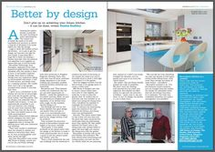 Our client J & S House of Design giving you all you need to build the kitchen of your dreams in July 2016's issue of the Oxfordshire Limited Edition magazine