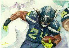 What do you think about Marshawn Lynch's 1.5 Million dollar raise to keep playing football for the Seahawks?  #marshawnlynch #seahawks