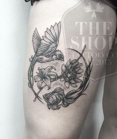 The Shop Tattoo Co best tattoo shop in toronto bird tattoo fish tattoo dot work tattoo