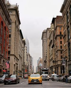 On the Street: Looking up 5th Avenue
