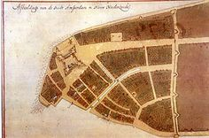 Gli olandesi fondano Nuova Amsterdam (la futura New York) nel 1625 alle foci dell'Hudson. La cittadella si trovava in un punto strategico, nella punta meridionale dell'isola di Manhattan, e venne creata con l'intento di permettere alle compagnie che gestivano il commercio di pellicce nella valle del fiume Hudson di difendere l'accesso fluviale.