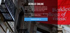 30 Lessons For Aspiring Musicians: Introducing the Berklee Online BitTorrent Bundle Train Band, Berklee College Of Music, Dave Matthews Band, Certificate Programs, Music Classroom, Annie, Curriculum, Musicians, Amy