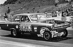 'Tension' Dodge Coronet AXS altered wheelbase funny car