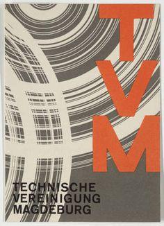 Walter Dexel. Technische Vereinigung Magdeburg. 1931-32