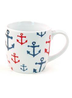 Anchors Aweigh! Mug | PLASTICLAND