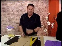Hermenegildo Zampar - Bienvenidas TV - Explica el Molde del Pantalón. - YouTube